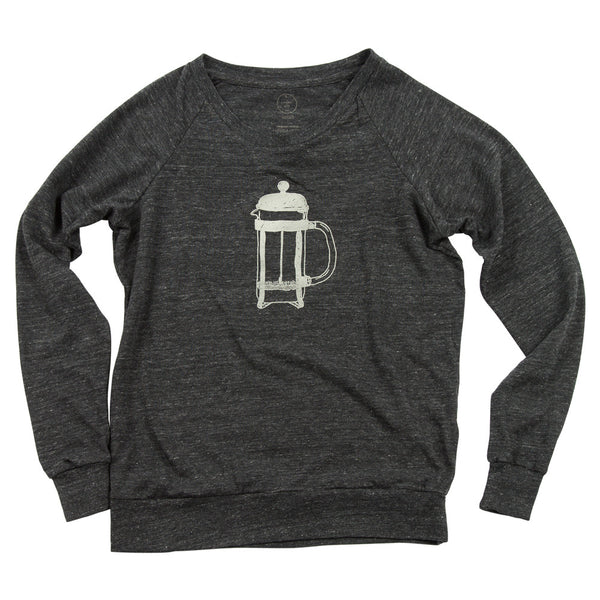 French Press Slouchy Pullover