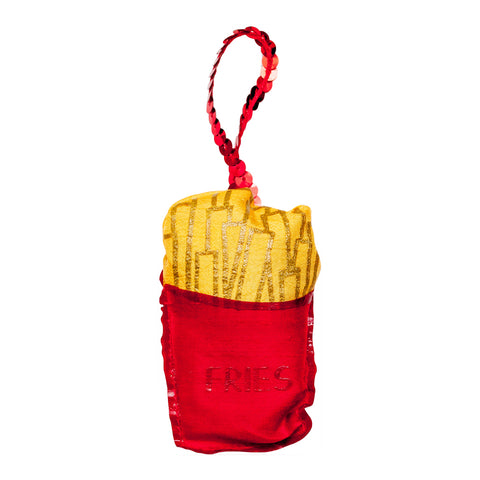 French Fries Plushie Ornament