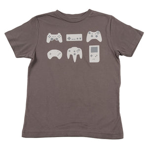 Game Controllers Kids Tee