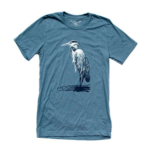 Great Blue Heron Mens Tee