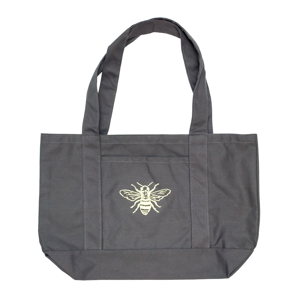 Honey Bee Canvas Pocket Tote