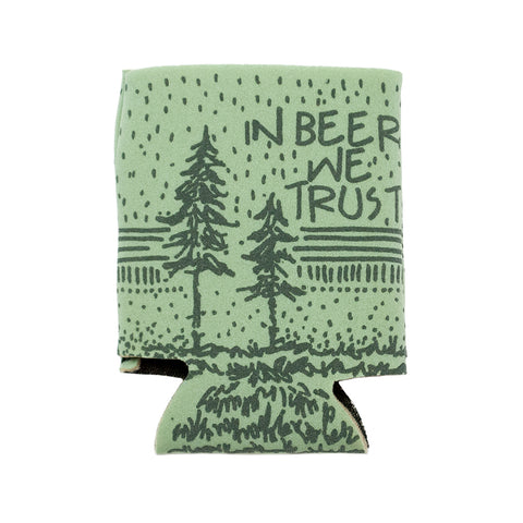 Can Cooler - In Beer We Trust