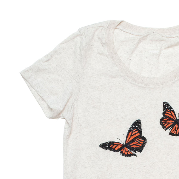 Monarch Butterflies Ladies Tee