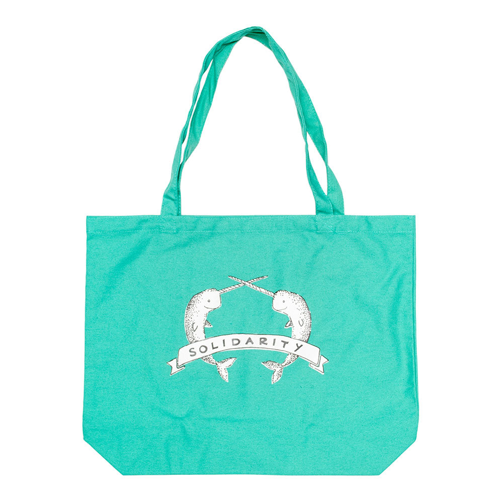Narwhal Solidarity Jumbo Tote Bag