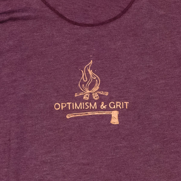 Optimism & Grit Ladies Racerback Tank