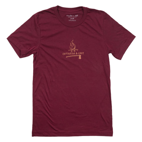 Optimism & Grit Men's Tee
