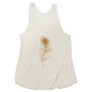 Feather Ladies Racerback Tank