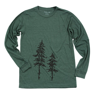 Pine Trees Men's Long Sleeve Tee