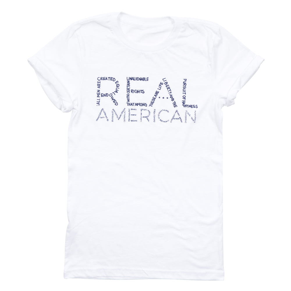Real American Men's Rolled Sleeve Tee