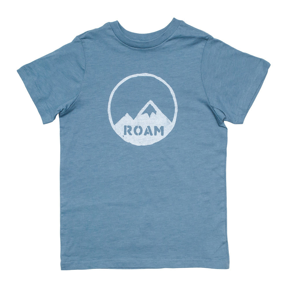 ROAM Mountains Kids Tee