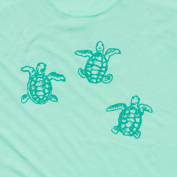 Sea Turtles Racerback Tank