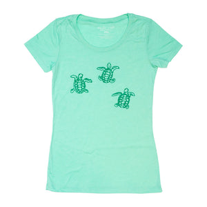 Sea Turtles Ladies Tee