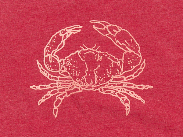 Crab Red Racerback Tank - Red