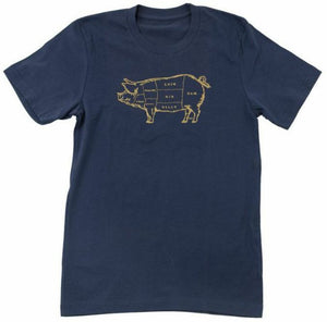 Pork Butcher Chart Tee