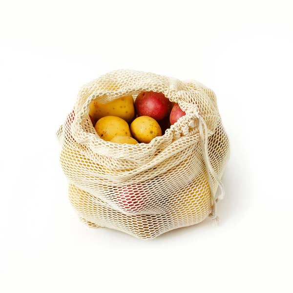 Mesh Produce Bag - Medium Natural