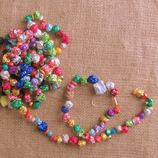 Candy Wrapper Garland