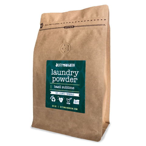 Plant-Based Laundry Powder - Basil Sublime