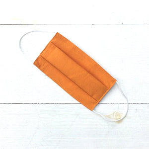 Cotton Face Mask- Orange