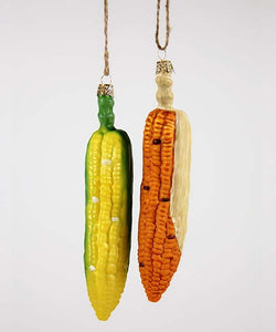 Corn With Husk Ornament