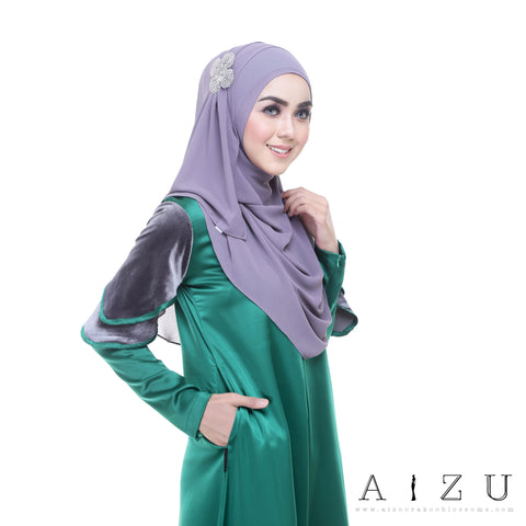 Leeyana Dress | LEE-02  Emerald Green
