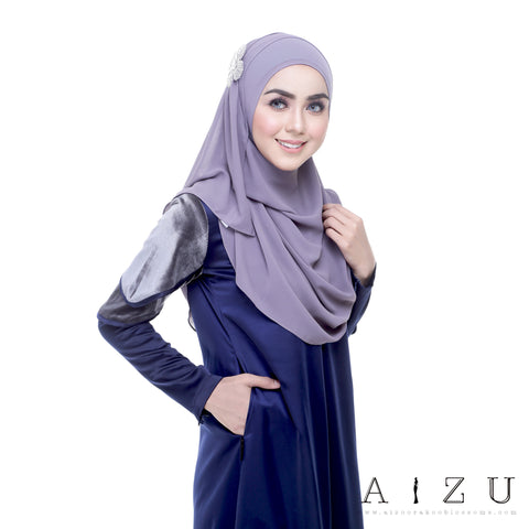 Leeyana Dress | LEE-05 Navy Blue
