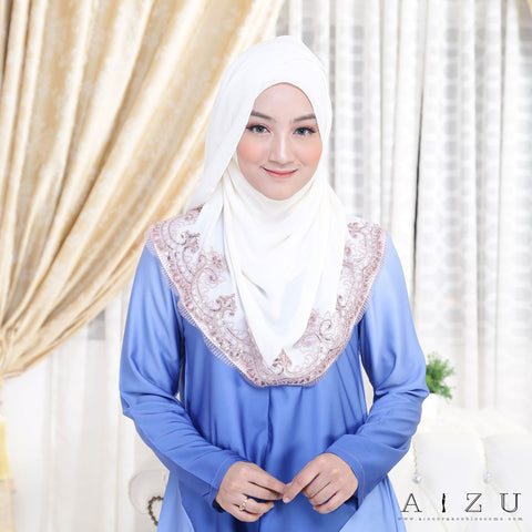 Zhalia Blouse | 01 Cloudy Blue