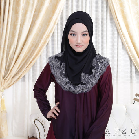Zhalia Blouse | 06 Luxurious Maroon