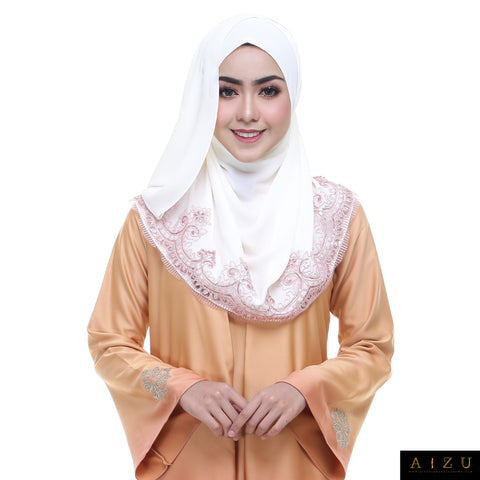 Zhalia Jubah | ZH-05 Sunset Brown