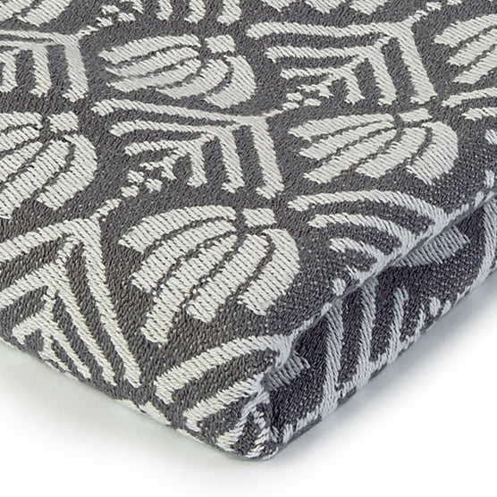 Grey Chichen Itza Blanket