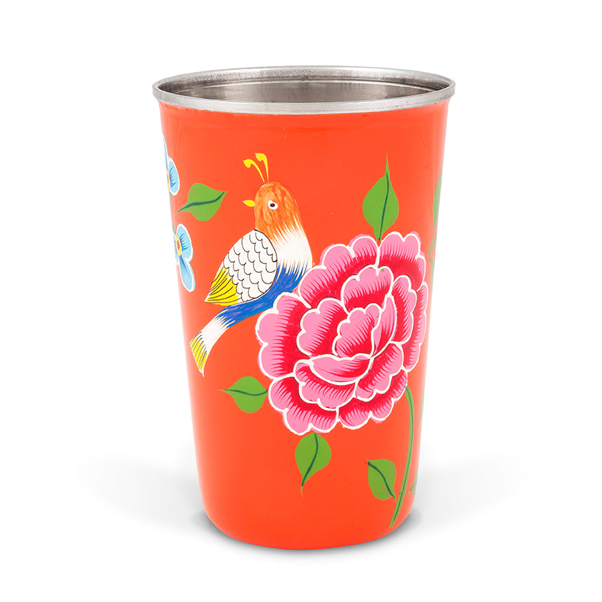 Orange Bird Tumbler II