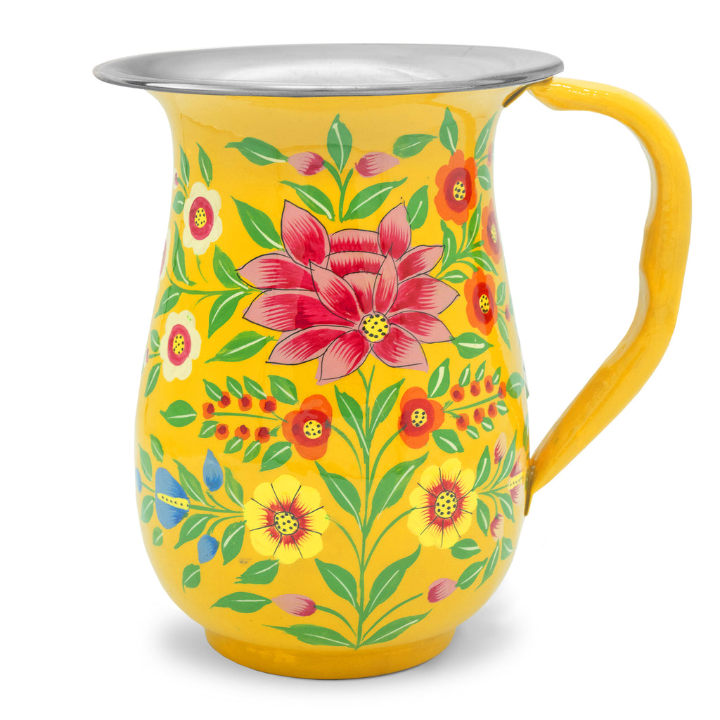 Yellow Lotus Jug