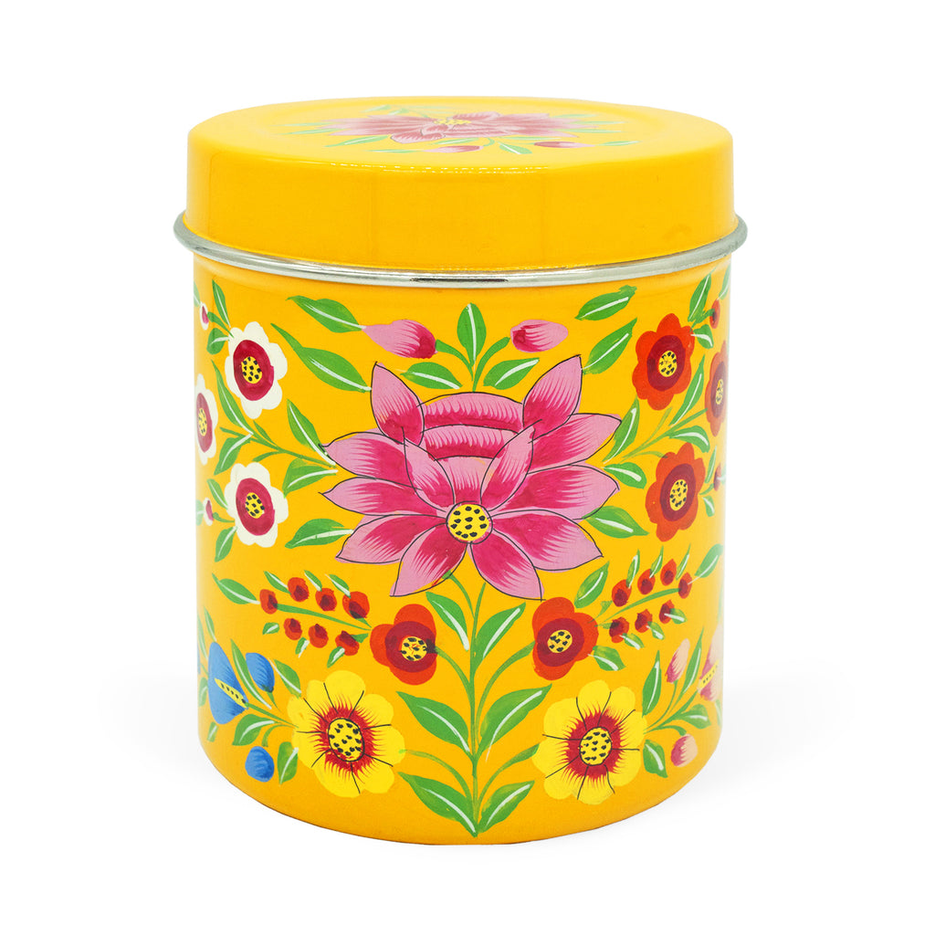 Yellow Lotus Large Tea Box