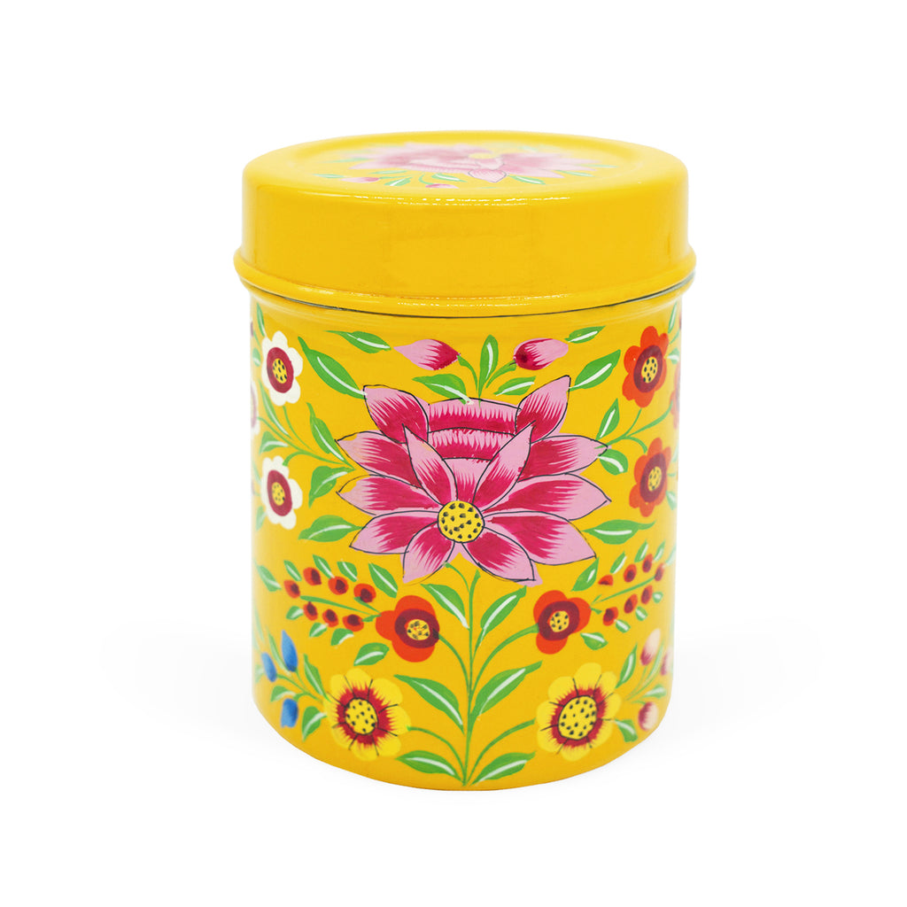 Yellow Lotus Medium Tea Box