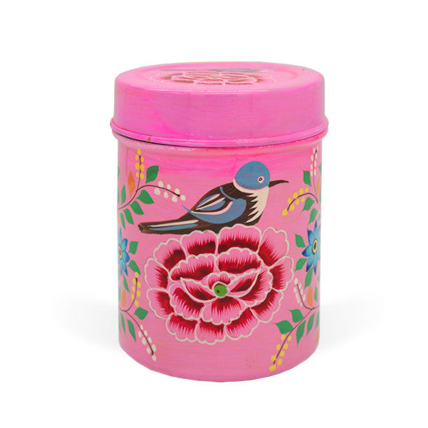 Pink Bird Medium Tea Box