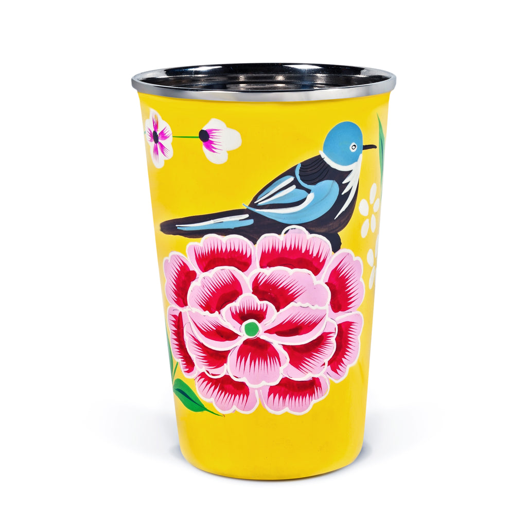 Yellow Bird Tumbler