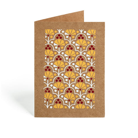 Greeting Card - Carnation