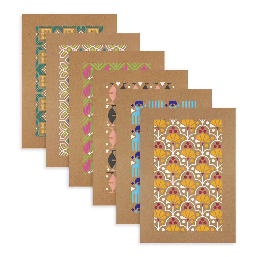 Set of 6 Greeting Cards