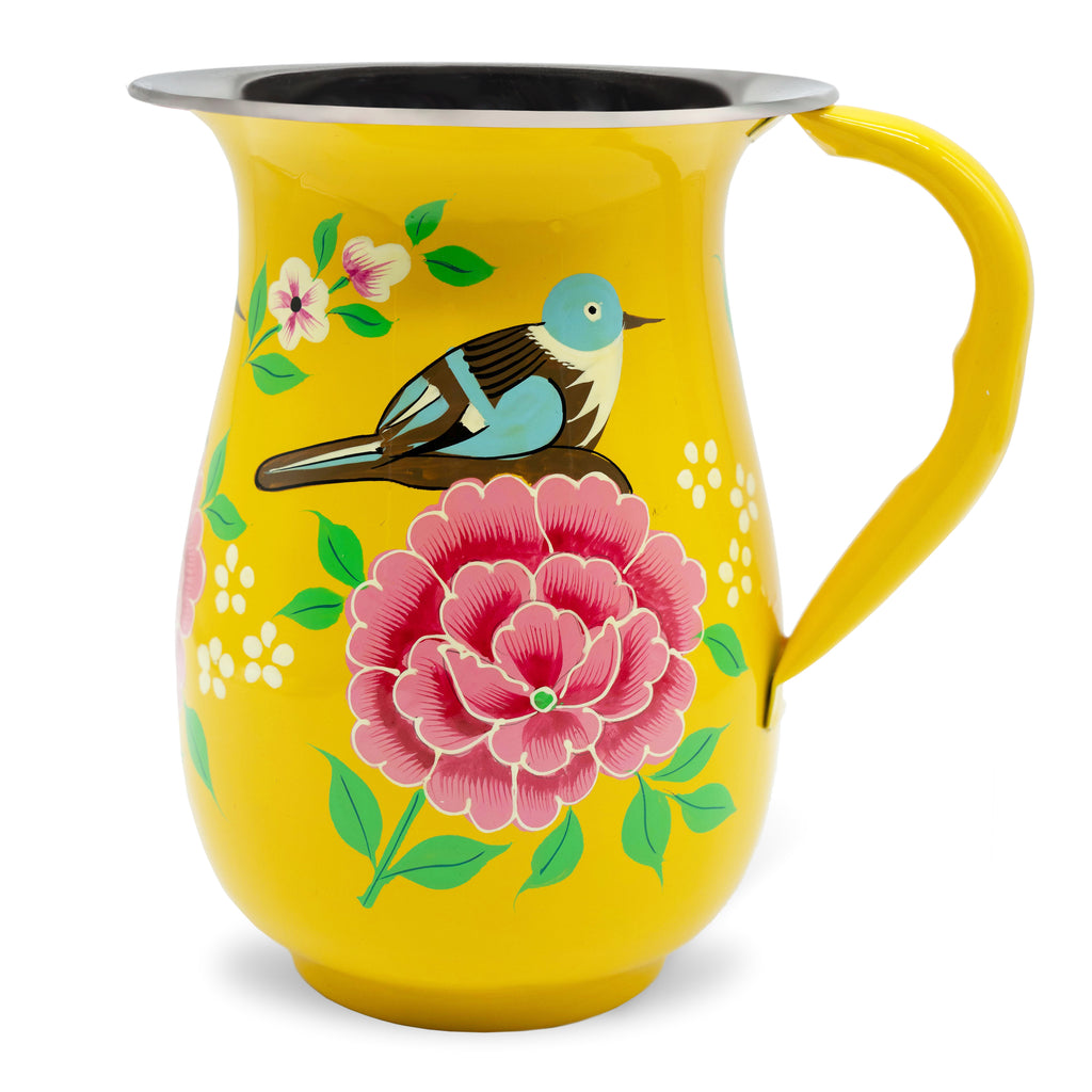 Yellow Bird Jug