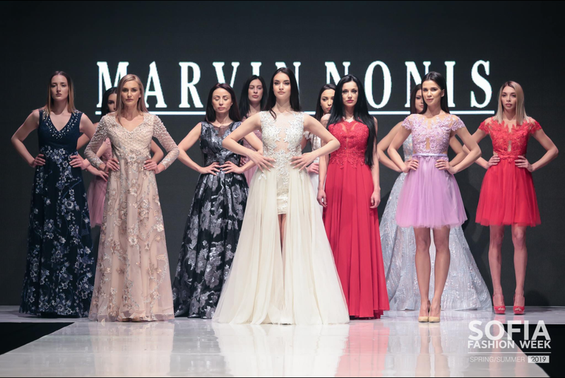 Marvin Nonis At Sofia Fashion Week 2019