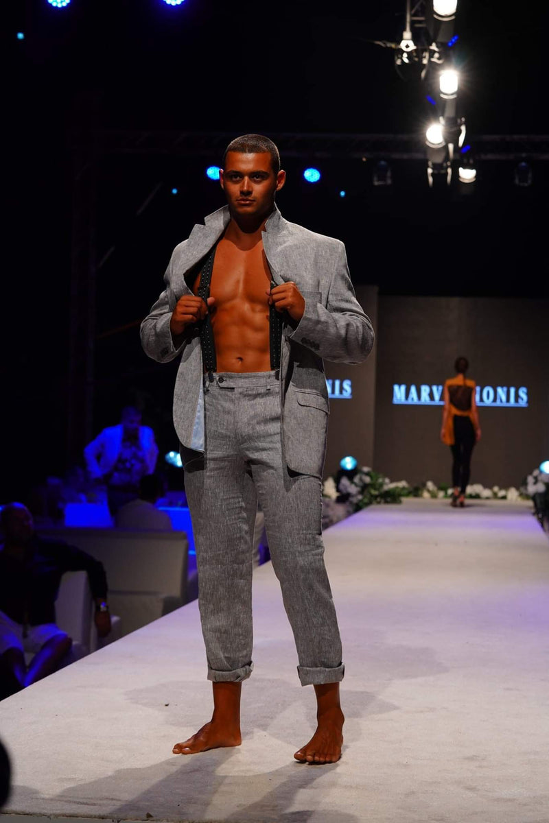 Marvin Nonis - Mens Casual Grey Suit