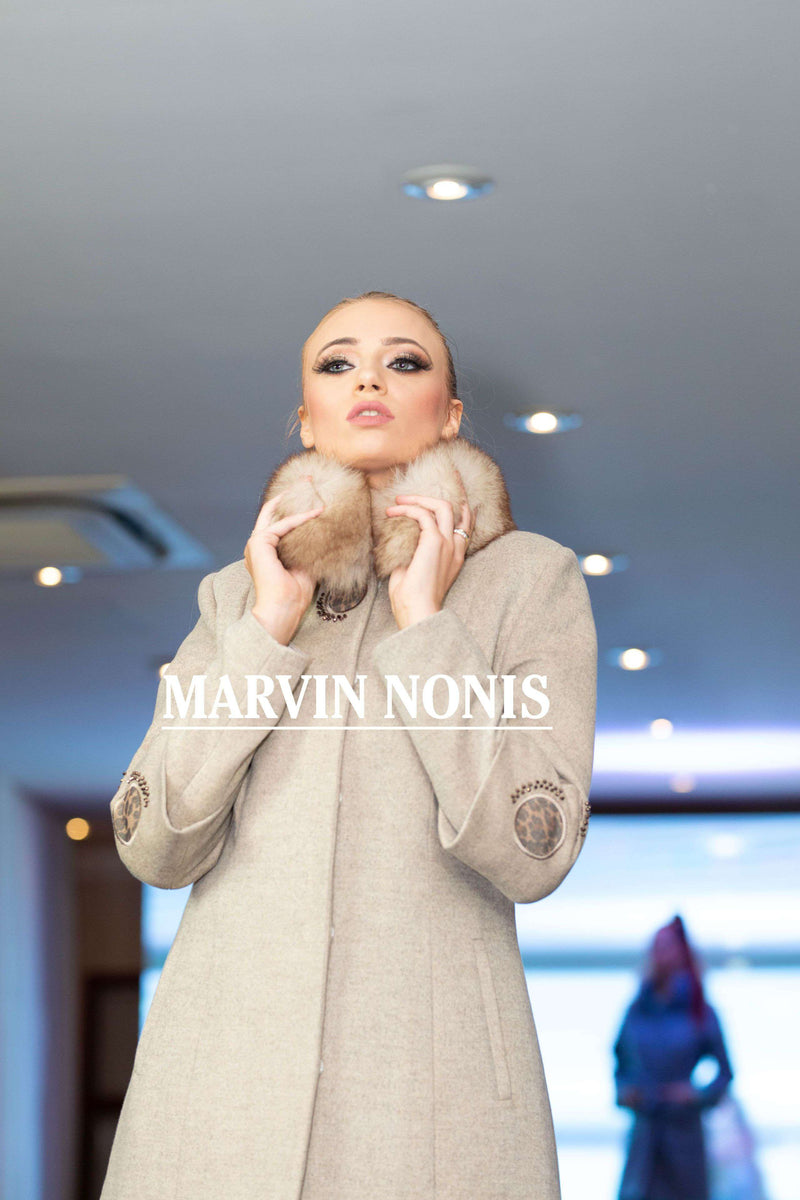 Marvin Nonis Ladies Grey Coat