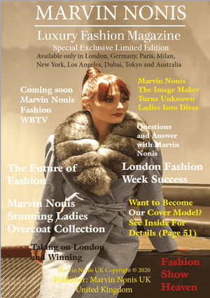 Marvin Nonis UK Luxury Fashion Magazine - Winter Collection