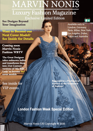 Marvin Nonis - Luxury Fashion Magazine - Exclusive Limited Edition