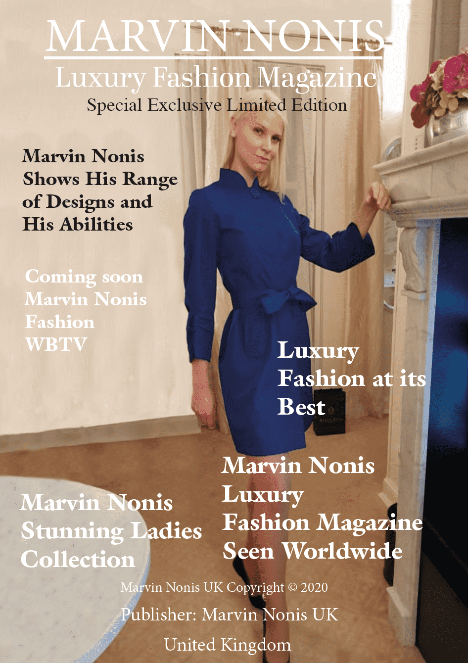 Marvin Nonis UK Luxury Fashion Magazine - Fashion Show 2