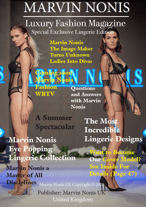 Marvin Nonis Luxury Fashion Magazine - Lingerie Editon