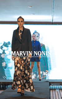 Marvin Nonis Ladies Floral Dress and. black Jacket