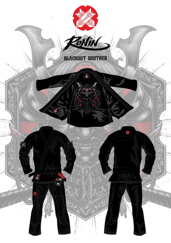 Samurai Blackout Ghost Bjj Gi
