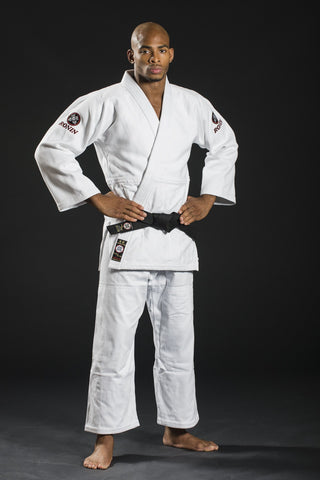 Ronin Brand Champion Comp Judo Uniform - White