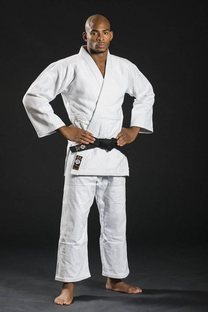 Ronin Brand Deluxe Double Weave White Judo uniform