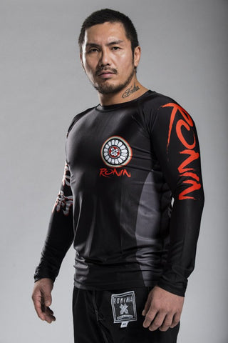 Ronin Samurai Rash Guard